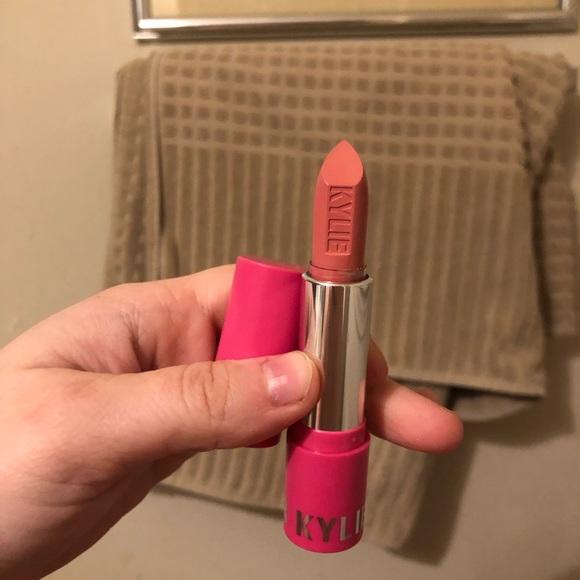 Kylie Cosmetics August Matte Pink Lipstick